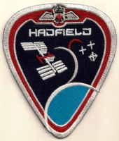 Expedition 34/35 Canadian Astronaut Chris Hadfield Patch